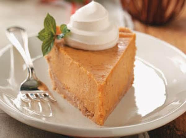 Pumpkin Cheesecake Pie Recipe