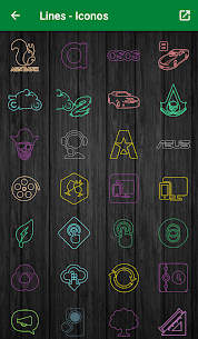 Color lines – Icon Pack 2.6 APK Mod for Android 2