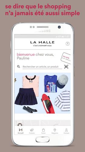 La Halle Android App Screenshot