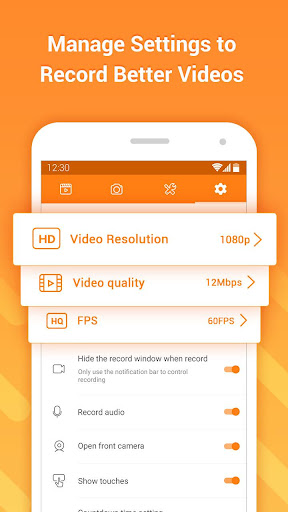 DU Recorder u2013 Screen Recorder, Video Editor, Live 1.6.2 screenshots 7