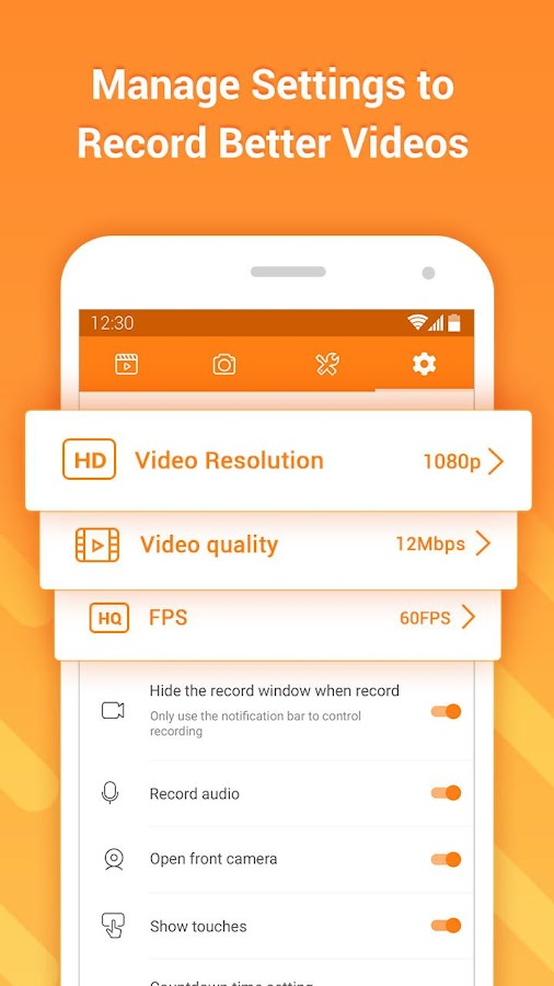 DU Recorder – Screen Recorder, Video Editor, Live- screenshot