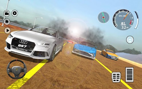 Drift Simulator: RS 7 Sportback Quattro - náhled