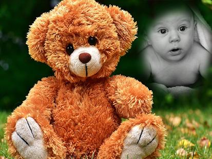 Teddy Bear Photo Frames Maker - náhled