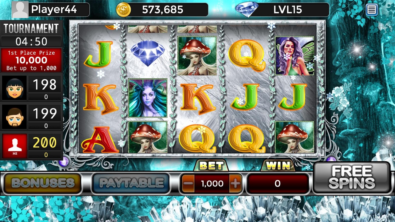 Enchanted Forest Free Slots- screenshot