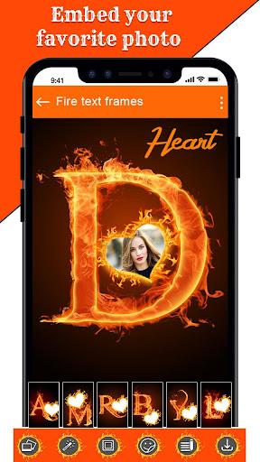 Fire Text Photo Frame u2013 New Fire Photo Editor 2020 1.40 Screenshots 16