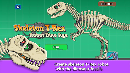 T-Rex Dinosaur Fossils Robot Age  {cheat|hack|gameplay|apk mod|resources generator} 4