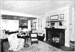 Photo: 1907 a summer parlor