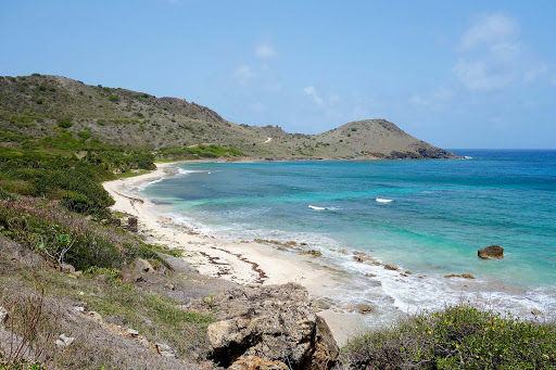 Anse de Toiny, a remote beach on St. Barts.