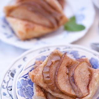 Cinnamon Sugar Pear Tart