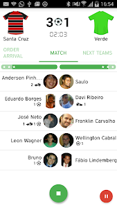 Peladeiros Pro Soccer Players screenshot 3