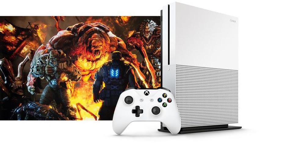 Xuất hiện hình ảnh của Xbox One S: mỏng hơn đời trước 40%, chơi video 4K, ổ cứng 2TB, HDR,...