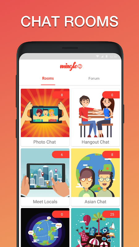Mingle2 - Free Online Dating & Singles Chat Rooms screenshots