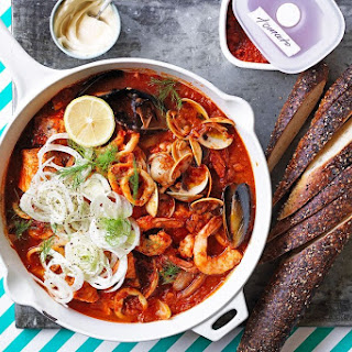 French-style Seafood Stew With Tomato Sugo.