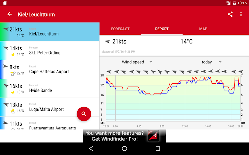 Windfinder- screenshot thumbnail