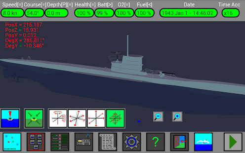 U型船模擬器