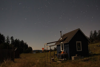 Photo: long-exposure with moonlight