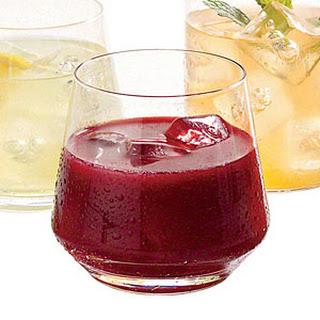 Blackberry-Vanilla Vodka Lemonade.