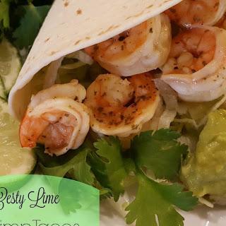 Zesty Lime Shrimp Tacos