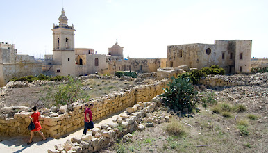 Photo: From citadel in Gozo