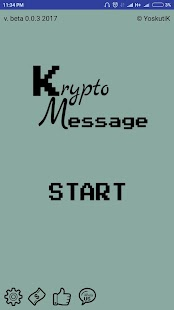 Krypto Message - náhled