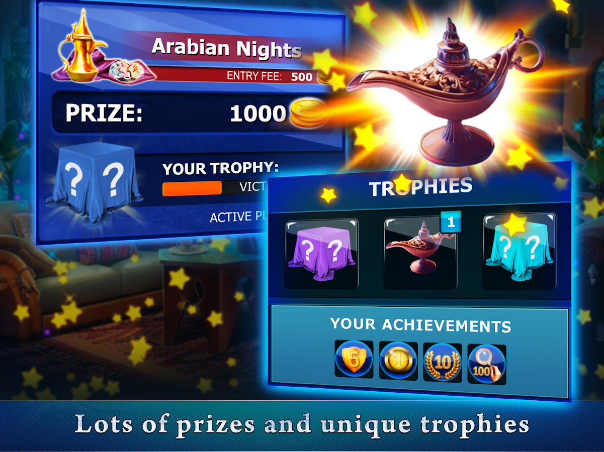 Hidden Objects: Competition with Friends- screenshot