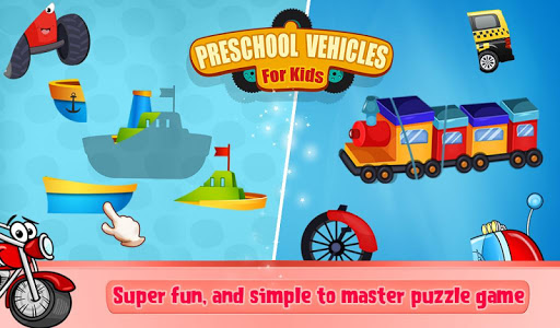 Preschool Vehicles For Kids v1.0.0