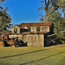 Abandoned Syrup Mill by Ron Olivier - Buildings & Architecture Decaying & Abandoned ( abandoned syrup mill, rosedale louisiana,  )