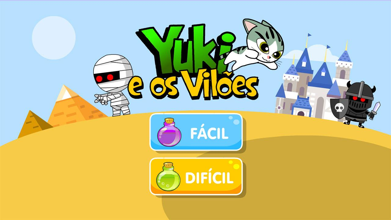 Yuki e os Vilões- screenshot