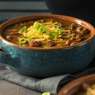 Out of This World Low Sodium Chili.