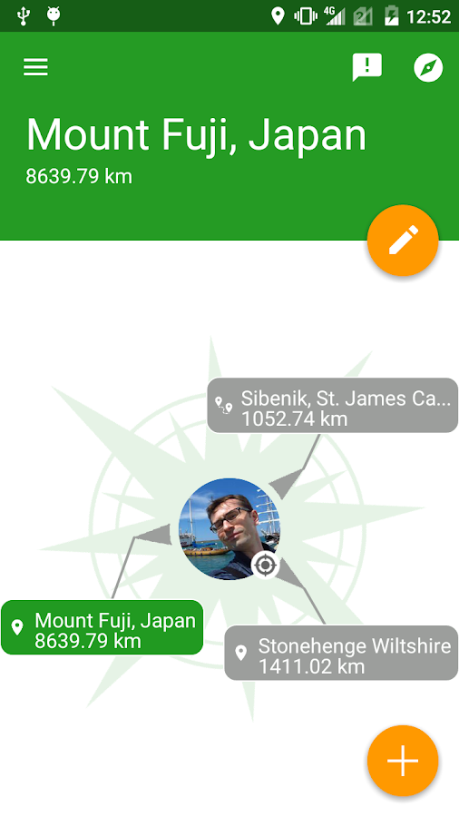 GlobeCompass Navigate & Travel- screenshot