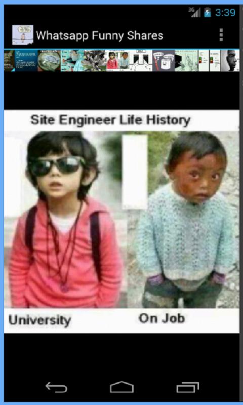 Скриншот Funny Shares for WhatsApp