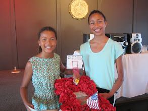 Photo: Taylor & Kylie Howard winnersfor Poppy Display