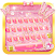 Pink Butterflies Keyboard Theme