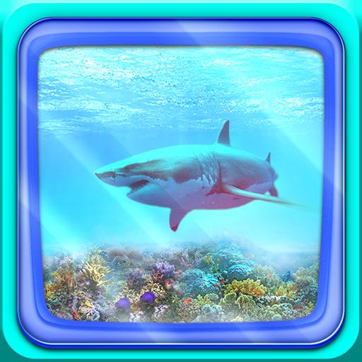 鲨鱼 动态壁纸 個人化 App LOGO-APP試玩