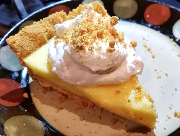 ~ Graham Cracker Cream Pie ~ Recipe