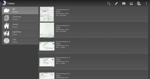 Mobile Doc Scanner (MDScan) + OCR screenshot 9