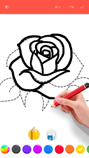 How To Draw Flowers 1.0.13 screenshots 2