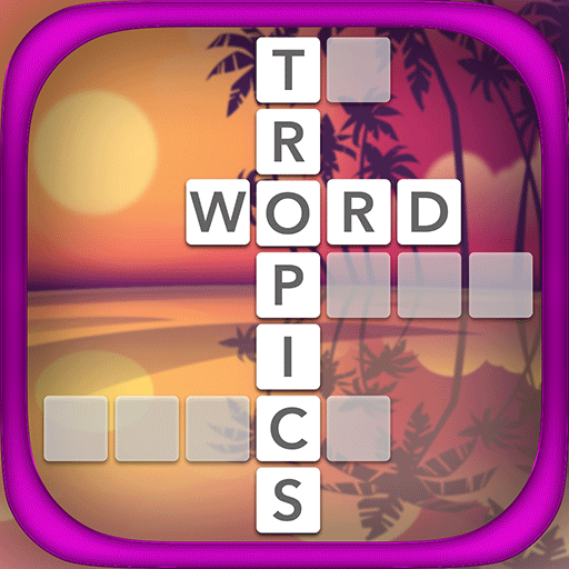 Word Tropics - Word Games Free For Adults Icon
