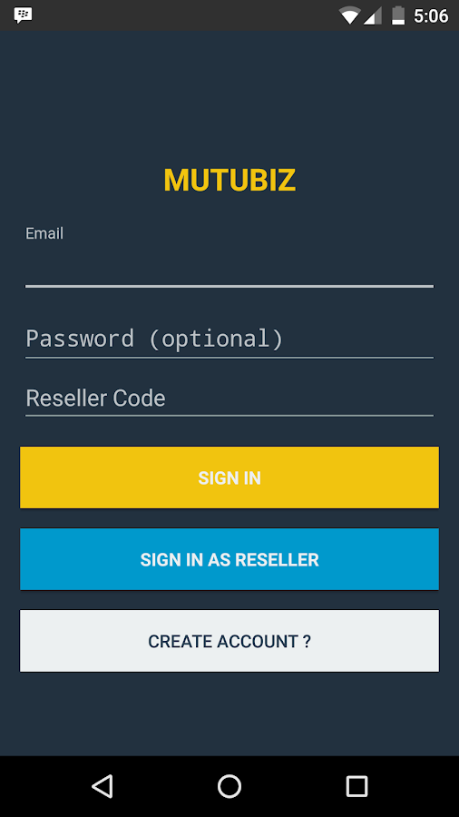 MutuBiz Seller Center- screenshot
