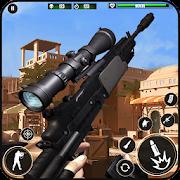 Royale Sniper Shooting: Desert FPS Combat