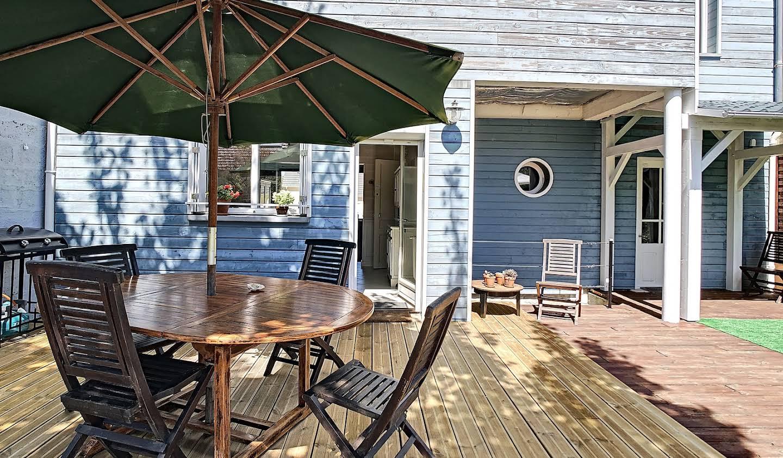 Maison en bord de mer avec jardin Barneville-Carteret