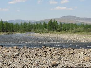 Photo: Лагортаю, перекат около Труба-Ю, где мы поймали первого хариуса.