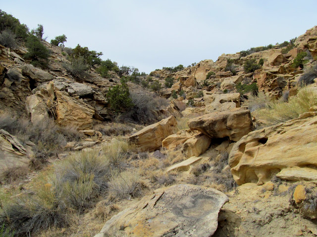 The aptly named Rock Canyon