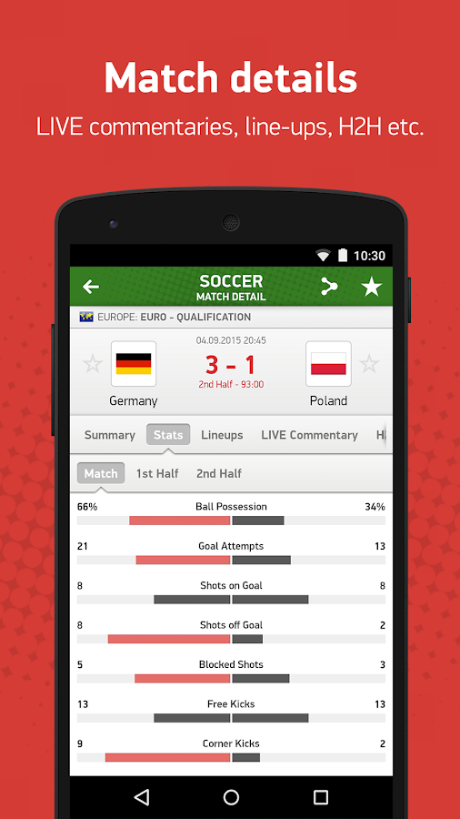 Soccerstand - Android-apps op Google Play Soccerstand