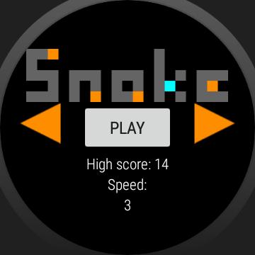 Snake for Wear screenshots