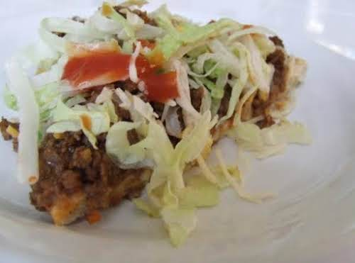 """Taco Pizza""""I probably make this once a month at least. EVERYBODY loves..."""