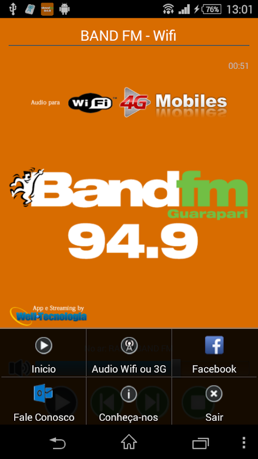 BAND FM - GUARAPARI- screenshot