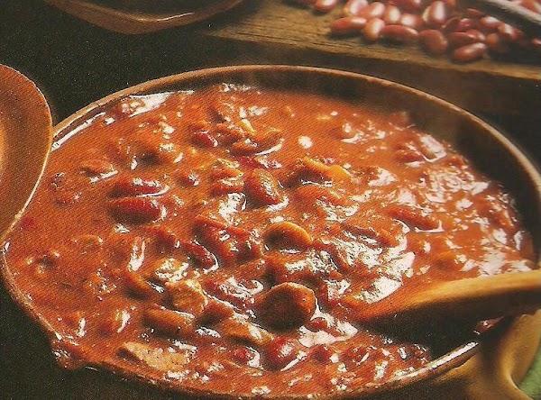 Robert's Chili Recipe