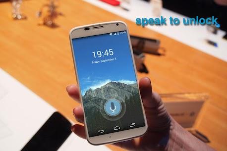 Voice Lock Screen Apk 6