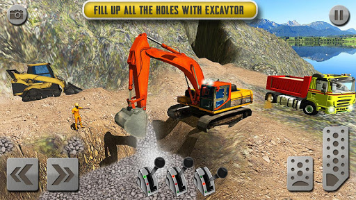 Sand Excavator Truck Driving Rescue Simulator game 4.2 de.gamequotes.net 3